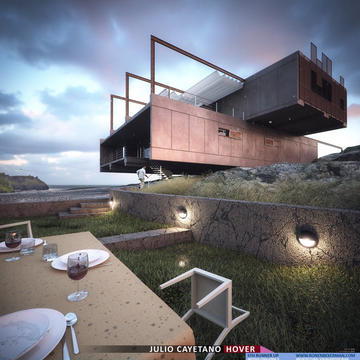 5th Runner Up - HOVER Architectural Visualization Challenge