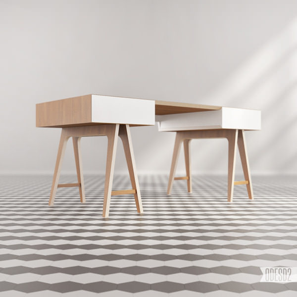 25 free 3d furniture model by odesd2 3d architectural for Model furniture